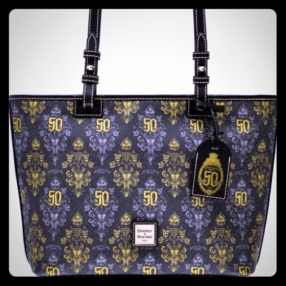 Dooney & Bourke Handbags - D&B Haunted Mansion 50th Anniversary Tote